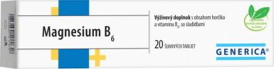 GENERICA Magnesium B6 tbl eff 20