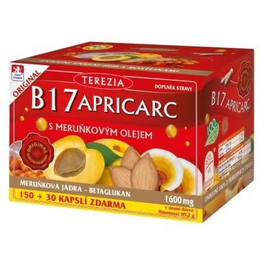 Terezia Company B17 APRICARC s marhuľovým olejom 180 cps. cps 150+30zadarmo