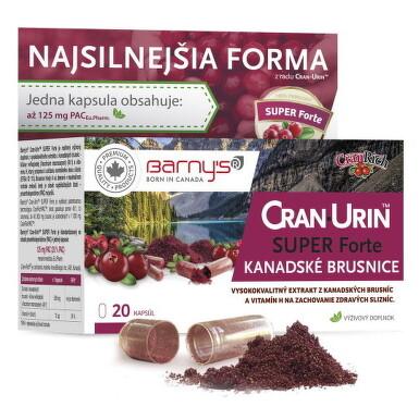 BARNY'S CRAN-URIN SUPER Forte cps 20