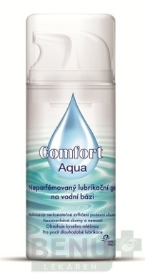 Omega Pharma Lubrikačný gél Comfort Aqua neparfumovaný 100 ml 100ml