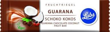 Lubs classsic tyčinka kokos guarana 40 g 40g