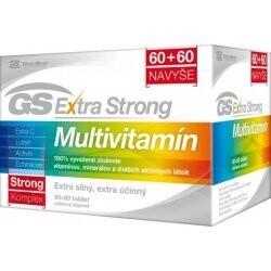 GS Extra Strong Multivitamín tbl 60+60
