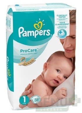 PAMPERS ProCare PREMIUM protection 1 38ks