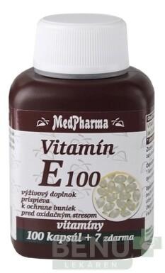 MedPharma VITAMÍN E 100 tbl 100+7 zdarma 2