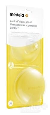 MEDELA Kontaktné dojčiace klobúčiky v krabičke, veľkosť M 1x2 ks