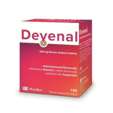 DEVENAL 500 mg 180 tabliet