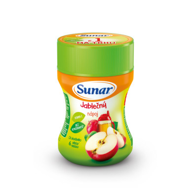 SUNAR Rozpustný nápoj v prášku jablčný 200 g