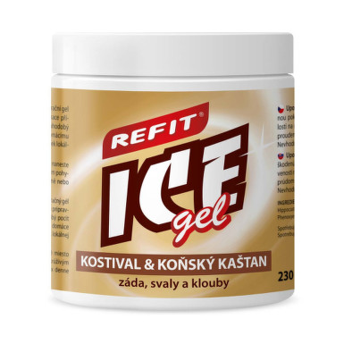 REFIT Ice gel kostihoj a gaštan 230 ml