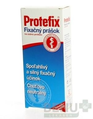 Protefix Fixačný prášok na zubnú protézu 50g