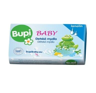 BUPI Baby Detské mydlo s lanolínom 100g