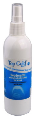 TOP GOLD Deo sprej do obuvi (na nohy) 150g