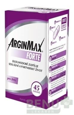 ARGINMAX FORTE pre ženy tbl 45 2