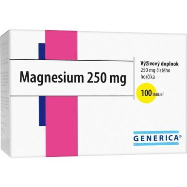 GENERICA Magnesium 250 mg tbl 100x250mg