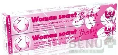 Woman secret BABY tehotenský test ks