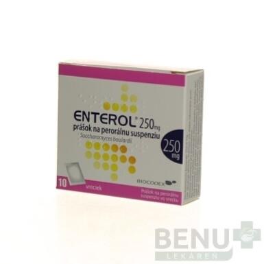 Enterol 250 mg prášok na perorálnu suspenziu plu por 10x250 mg