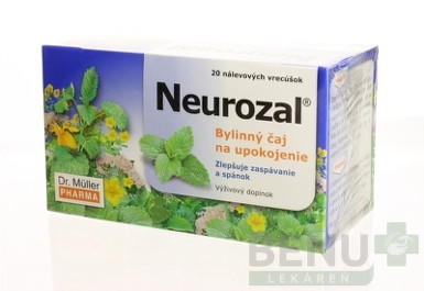 Dr. Müller NEUROZAL na upokojenie 20 sac.