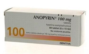 Anopyrin 100 mg tbl 84x100mg