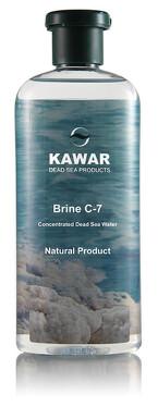 KAWAR Brine C-7 koncentrovaná voda z Mŕtveho mora 400ml 200 ml