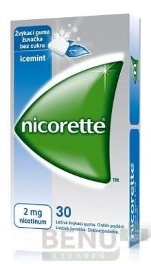 Nicorette Icemint Gum 2 mg gum med 30x2mg