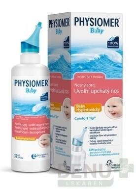 Laboratorie de la Mer PHYSIOMER Baby hypertonický nosový sprej 60 ml 60ml