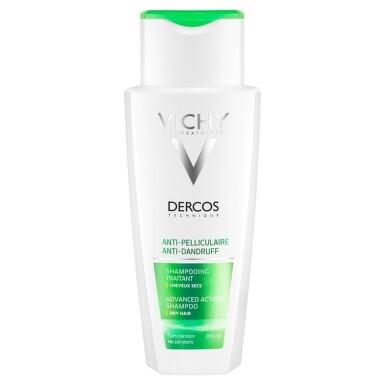 VICHY DERCOS ANTI-PELLICULAIRE Šampón 200ml 200ml