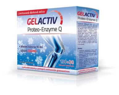 GELACTIV Proteo-Enzyme Q tbl 130+30 zdarma