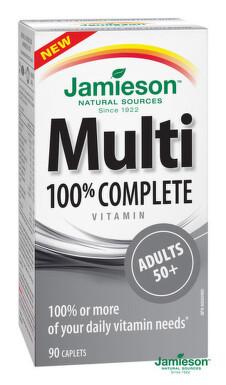 JAMIESON Multi COMPLETE pre dospelých 50+ tbl 90