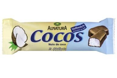 ALNATURA Mliečna čokoládovo-kokosová tyčinka 40g