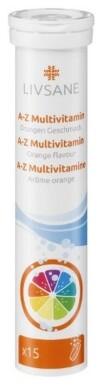 LIVSANE A-Z Multivitamín 1x15 ks