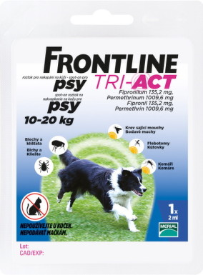 FRONTLINE TRI-ACT Spot-On pre psy M 1x2ml