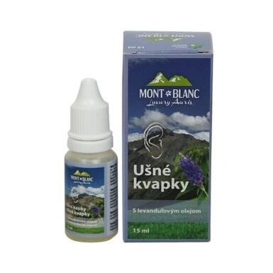 MONT BLANC Luxury auris ušné kvapky s levanduľou 15 ml