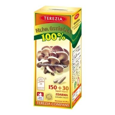 TEREZIA Hliva ustricová 150 + 30 kapsúl
