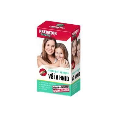 PREDÁTOR Parazit pri výskyte vší a hníd šampón 100 ml + sérum 100 ml
