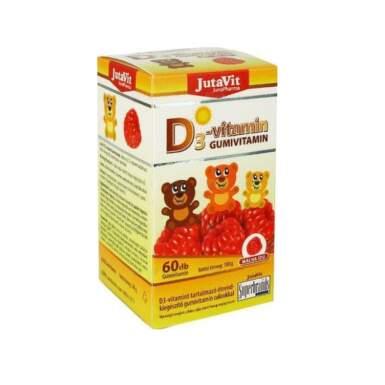 JUTAVIT Gumkáči multivitamín pre deti želatínové medvedíky 60 kusov