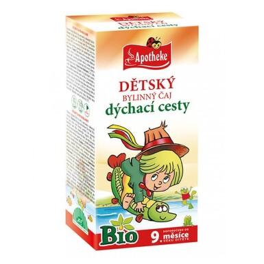 APOTHEKE BIO Detský bylinný čaj dýchacie cesty 20 x 1,5 g