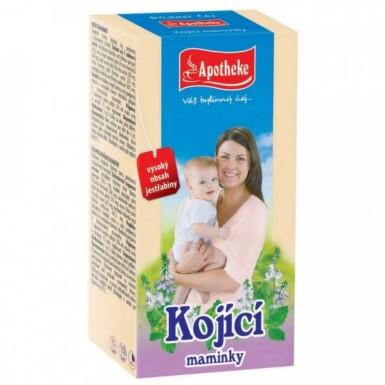 APOTHEKE Čaj pre dojčiace matky 20 x 1,5 g
