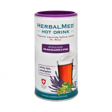DR. WEISS Herbalmed hot drink nachladnutie a nádcha 180 g