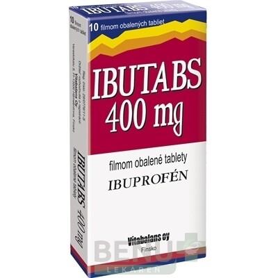 IBUTABS 400 mg 1x10 ks tbl flm 10x400mg