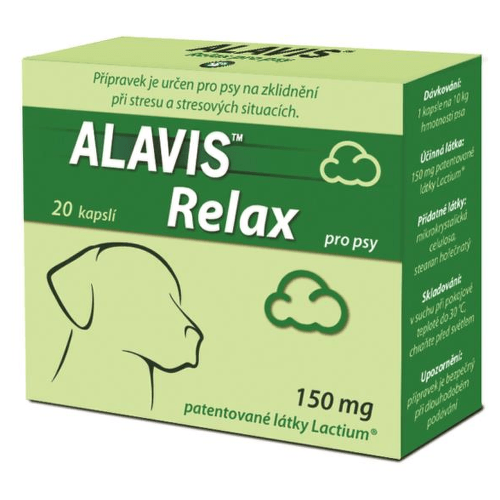 Alavis Relax pre psy 150mg 20cps cps 20