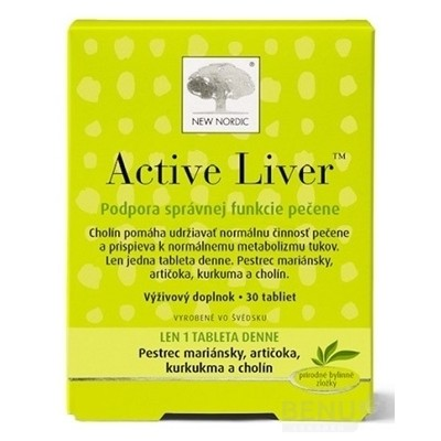 NEW NORDIC Active Liver tbl 30