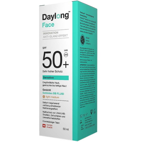 DAYLONG Sensitive face SPF 50 tónovaný 50 ml
