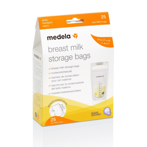 MEDELA Vrecká na skladovanie materského mlieka 25 kusov