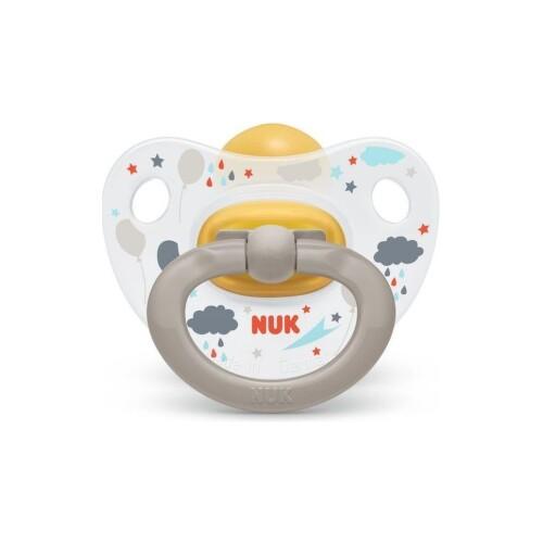 NUK Cumlík classic happy kids V2-Latex box 1 kus