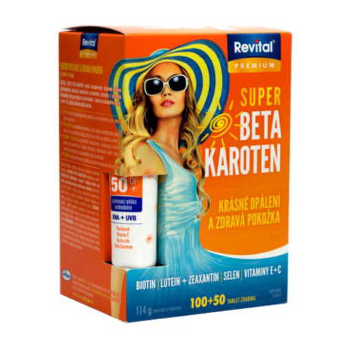 REVITAL Premium super beta-karotén 80  40 tabliet ZADARMO