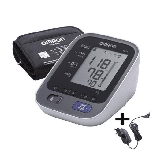 OMRON M6 Comfort digitálny tlakomer automatický 1 kus + sieťový zdroj