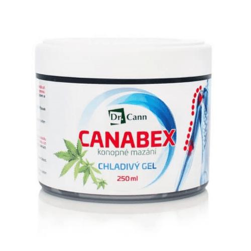 DR. CANN Canabex konopné mazanie chladný gél 250 ml