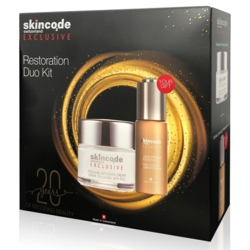 SKINCODE Exclusive restoration duo kit 1 set