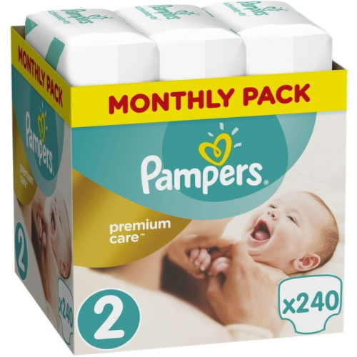 Pampers Premium Care 2 Mini 4-8 kg 240ks