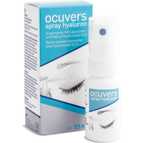 Ocuvers spray hyaluron sol oph 15ml