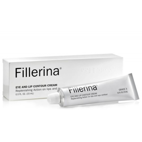 FILLERINA Eye and lip contour cream grade 1 krém na kontúry očí a pier 15 ml